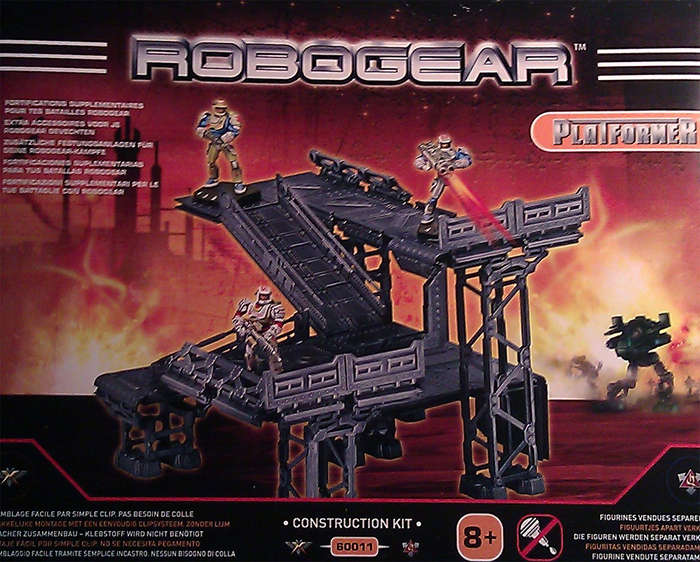 Robogear Platformer Construction Kit